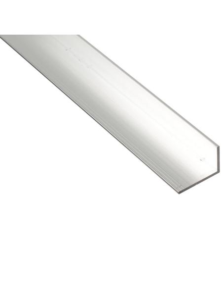 GAH ALBERTS BA-Profil Winkel Alu silber 2600 x 25 x 15 x 1,5 mm