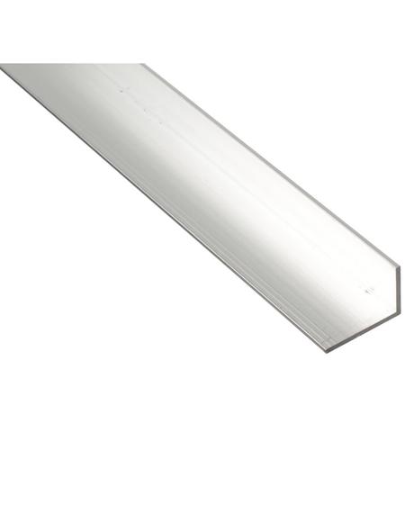 GAH ALBERTS BA-Profil Winkel Alu silber 2600 x 40 x 20 x 2 mm