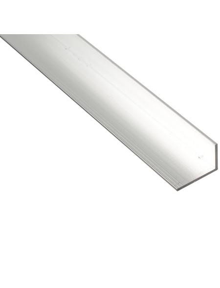 GAH ALBERTS BA-Profil Winkel Alu silber 2600 x 50 x 20 x 2 mm