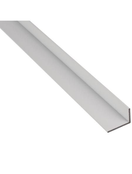 GAH ALBERTS BA-Profil Winkel Alu weiß 2600 x 20 x 10 x 1,5 mm