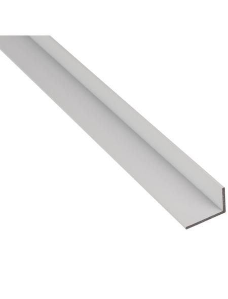 GAH ALBERTS BA-Profil Winkel Alu weiß 2600 x 30 x 20 x 2 mm