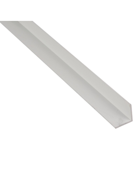 GAH ALBERTS BA-Profil Winkel Alu weiß 2600 x 30 x 30 x 2 mm