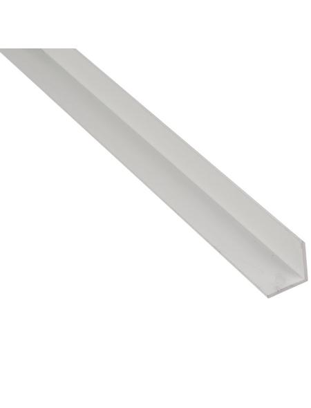 GAH ALBERTS BA-Profil Winkel Alu weiß 2600 x 50 x 50 x 3 mm