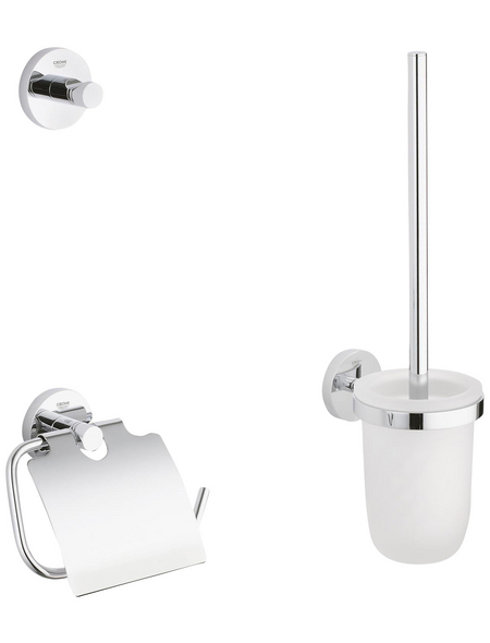 GROHE Bad-Accessoire-Set »Essentials«, chromfarben