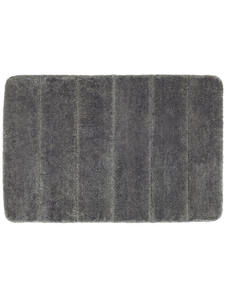 WENKO Badematte »Steps«, Mouse Grey, 60 x 90 cm