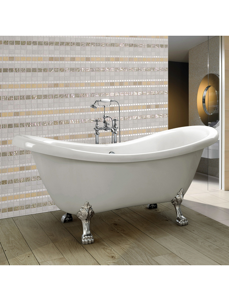 HOME DELUXE Badewanne, BxHxL: 74 x 79 x 176 cm, oval