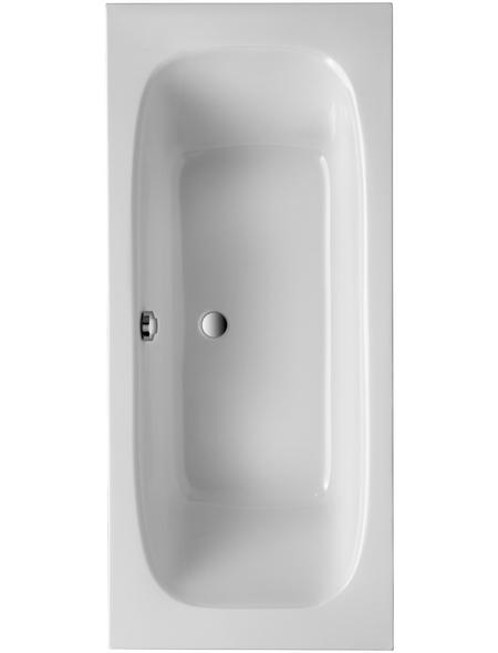 OTTOFOND Badewanne, BxHxL: 80 x 41 x 180 cm, Körperform