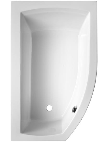 OTTOFOND Badewanne »Cedros«, BxHxL: 98 x 45 x 170 cm, trapezförmig