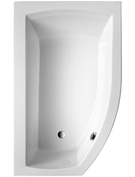 OTTOFOND Badewanne »Cedros Mod. A«, BxHxL: 98 x 45 x 160 cm, trapezförmig