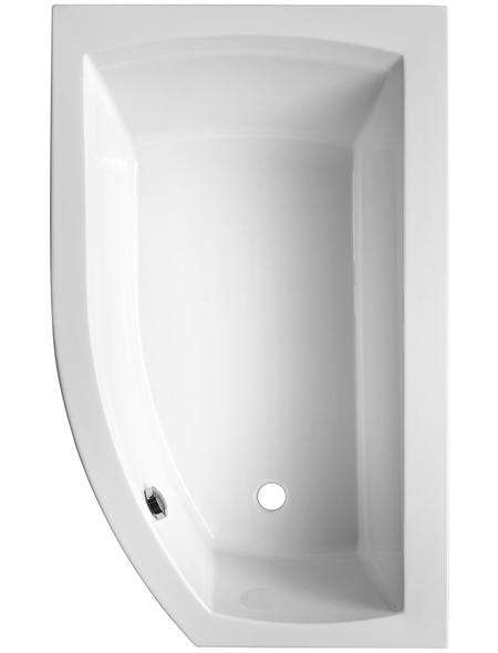 OTTOFOND Badewanne »Cedros Mod. B«, BxHxL: 98 x 45 x 160 cm, trapezförmig