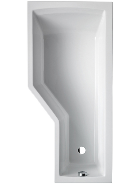 OTTOFOND Badewanne »Cello«, BxHxL: 75 x 45 x 150 cm, asymetrisch