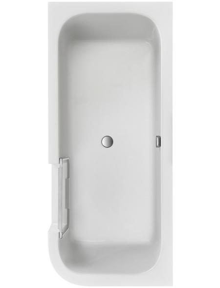 OTTOFOND Badewanne »Free-Gate«, BxHxL: 80 x 46,5 x 180 cm, oval