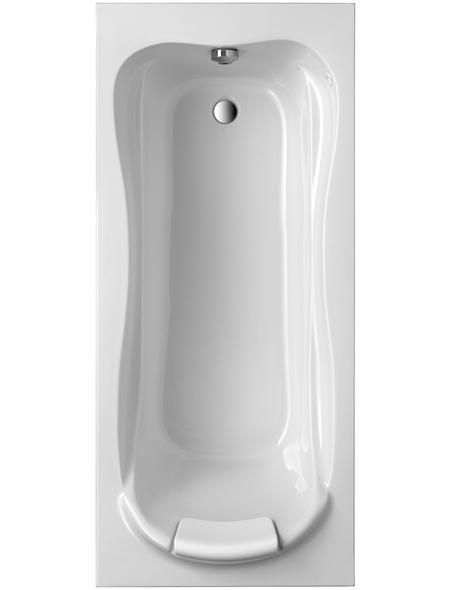 OTTOFOND Badewanne »Jamaica«, BxHxL: 80 x 40 x 180 cm, Körperform