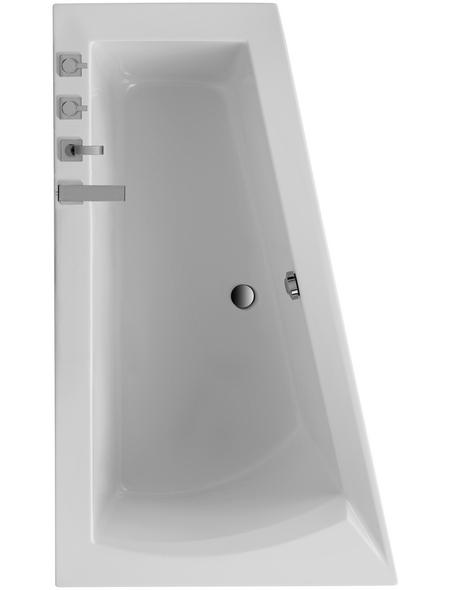 OTTOFOND Badewanne, L x B: 170 cm x 100 cm