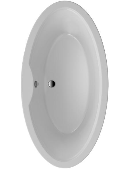OTTOFOND Badewanne »Luna«, BxHxL: 94,5 x 45 x 179,5 cm, oval