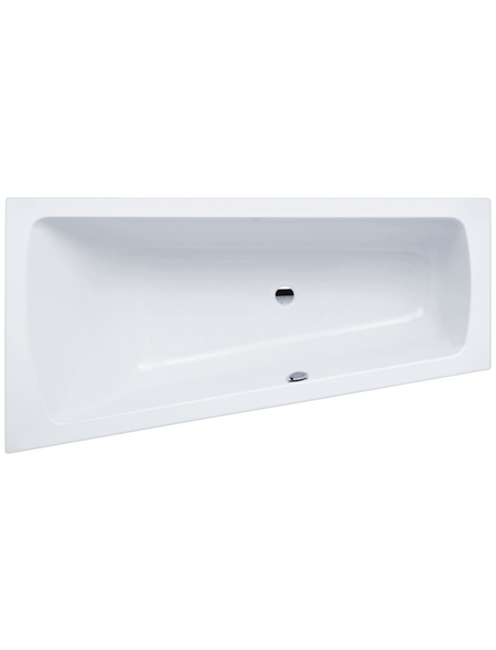 Badewanne »LUXOR«, L x B: 170 cm x 60 cm