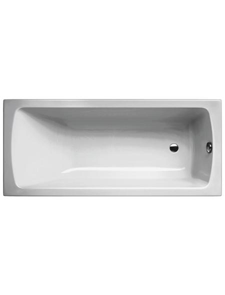 Badewanne »LUXOR«, L x B: 170 cm x 75 cm