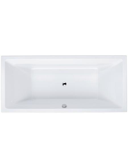 Badewanne »LUXOR«, L x B: 180 cm x 80 cm
