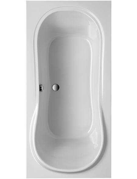 OTTOFOND Badewanne »Palma«, BxHxL: 90 x 45 x 190 cm, Körperform