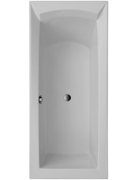 OTTOFOND Badewanne »Porta«, BxHxL: 80 x 50 x 180 cm, Körperform