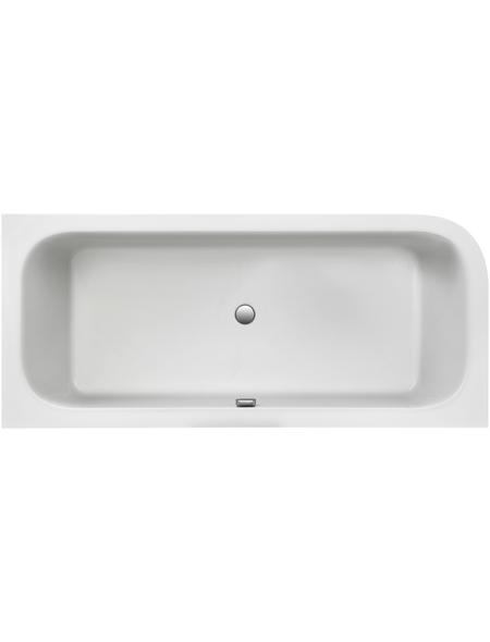 OTTOFOND Badewanne »Spirit«, BxHxL: 80 x 46,5 x 180 cm, oval