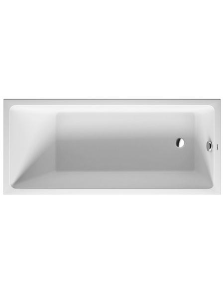 DURAVIT Badewanne »Vero Air«, L x B: 170 cm x 75 cm