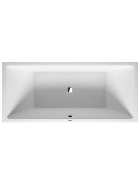 DURAVIT Badewanne »Vero Air«, L x B: 180 cm x 80 cm