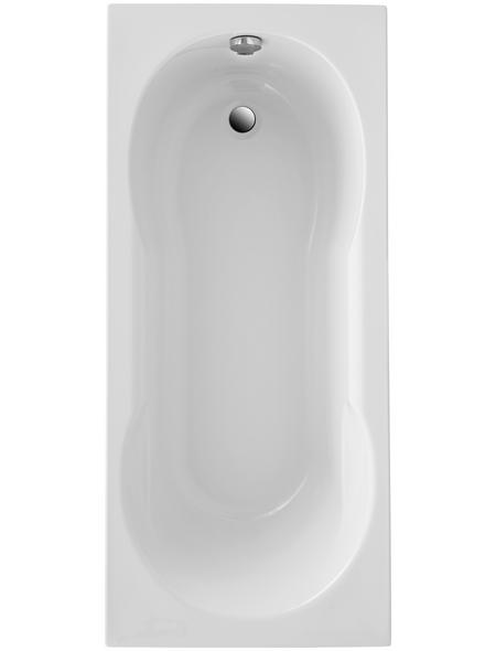 OTTOFOND Badewanne »Viva«, BxHxL: 75 x 40 x 170 cm, Körperform