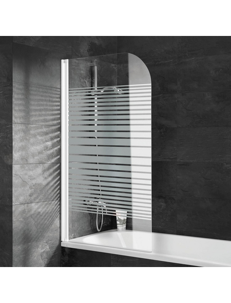 SCHULTE Badewannenfaltwand »ExpressPlus«, B x H: 80  x 140  cm, Glas (ESG)