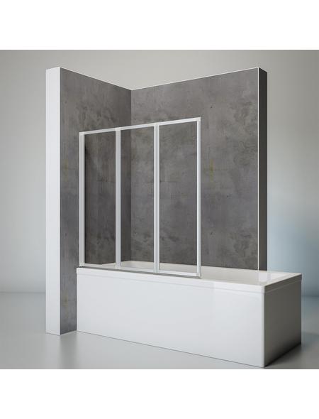 SCHULTE Badewannenfaltwand »Komfort«, B x H: 126,4  x 140  cm, Sicherheitsglas