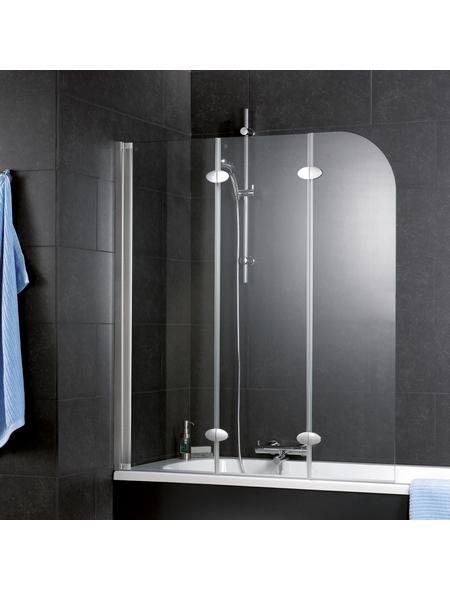 SCHULTE Badewannentrennwand »ExpressPlus«, BxH: 125 x 140 cm, Einscheiben-Sicherheitsglas (ESG)