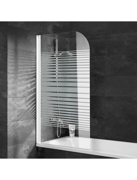 SCHULTE Badewannentrennwand »ExpressPlus«, BxH: 80 x 140 cm, Einscheiben-Sicherheitsglas (ESG)