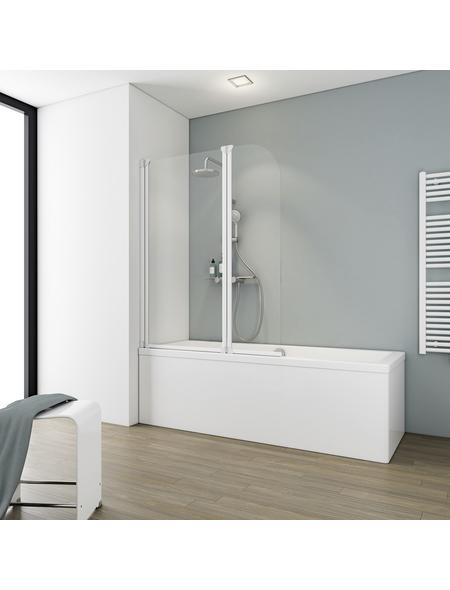 SCHULTE Badewannentrennwand »Komfort«, BxH: 115 x 140 cm, Echtglas