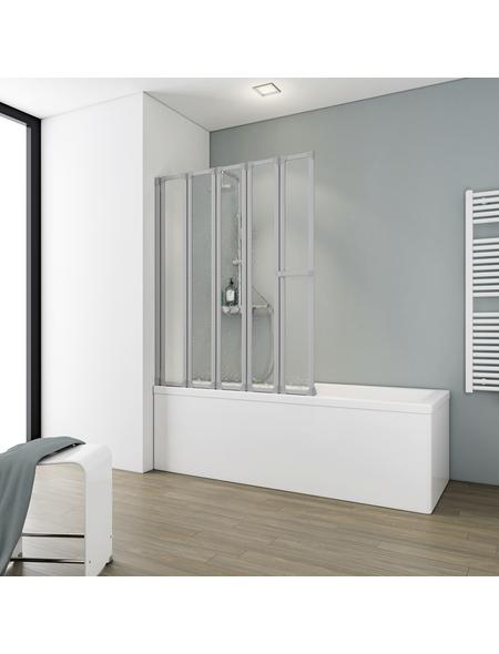 SCHULTE Badewannentrennwand »Komfort«, BxH: 115 x 140 cm, Kunstglas