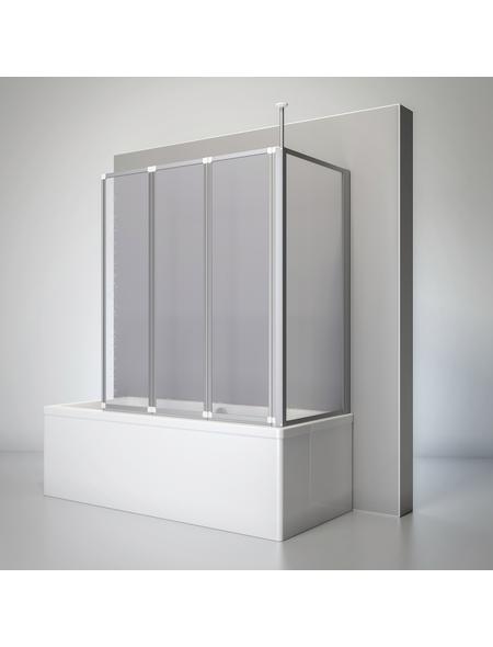 SCHULTE Badewannentrennwand »Komfort«, BxH: 129 x 140 cm, Kunstglas