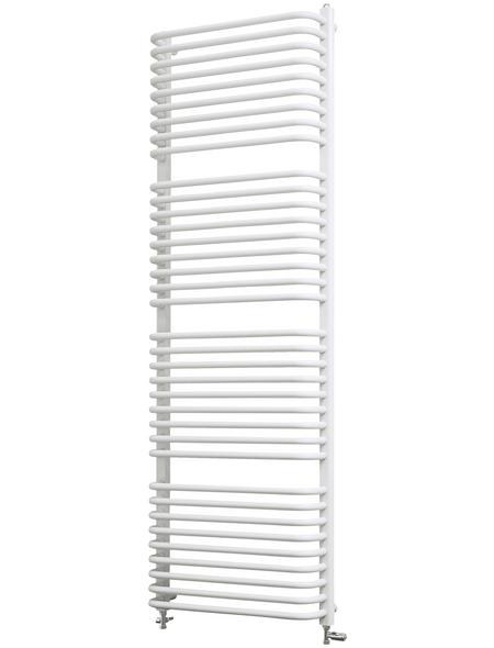 SCHULTE Badheizkörper »Amsterdam II«, B x T x H: 60 x 17 x 174,6 cm, 1154 W, alpinweiß