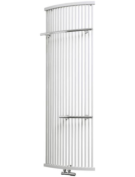 SCHULTE Badheizkörper »Basel«, B x T x H: 58 x 11,5 x 160 cm, 1040 W, alpinweiß