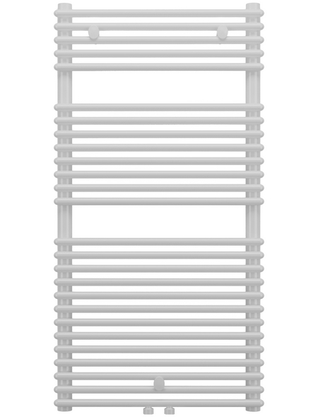 SANOTECHNIK Badheizkörper »Catania«, B x T x H: 60 x 5 x 119 cm, 1075 W, weiß