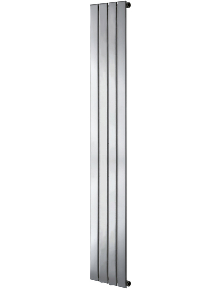 SANOTECHNIK Badheizkörper »Eisenstadt«, B x T x H: 30,9 x 8 x 180 cm, 354 W, chromfarben