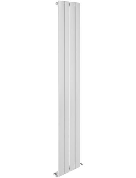 SANOTECHNIK Badheizkörper »Eisenstadt«, B x T x H: 30,9 x 8 x 180 cm, 564 W, weiß