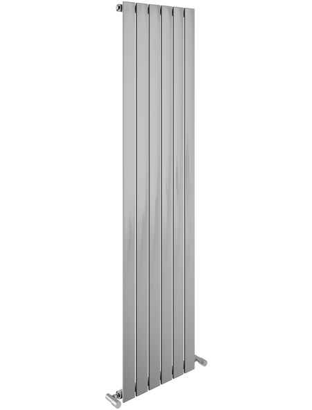 SANOTECHNIK Badheizkörper »Eisenstadt«, B x T x H: 45,9 x 8 x 180 cm, 532 W, chromfarben