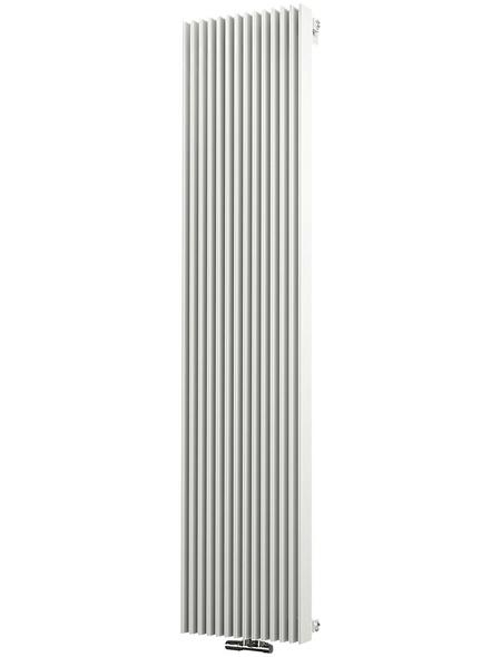 SCHULTE Badheizkörper »London«, B x T x H: 41,5 x 14 x 180 cm, 1556 W, weiß