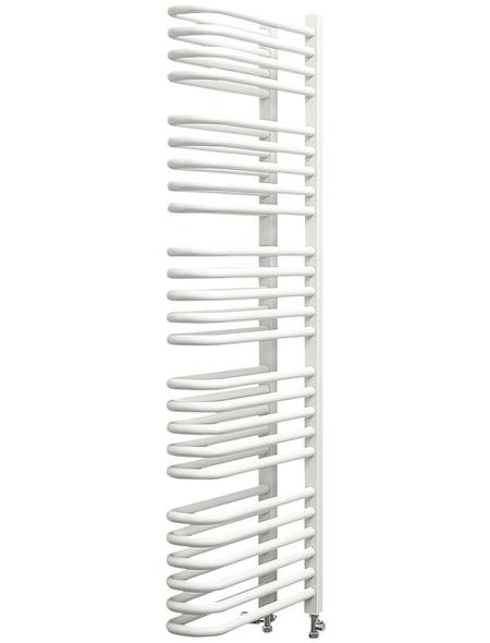 SCHULTE Badheizkörper »Porto«, B x T x H: 13 x 51,5 x 120 cm, 1056 W, alpinweiß