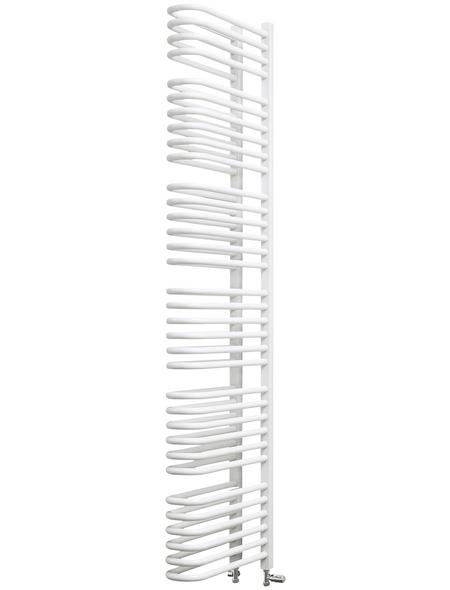 SCHULTE Badheizkörper »Porto«, B x T x H: 13 x 51,5 x 160 cm, 1470 W, alpinweiß