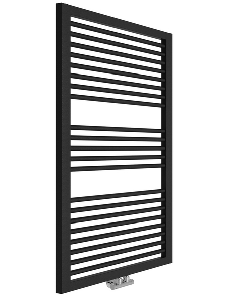 SANOTECHNIK Badheizkörper »Rimini«, B x T x H: 60 x 3 x 122,8 cm, 690 W, anthrazit