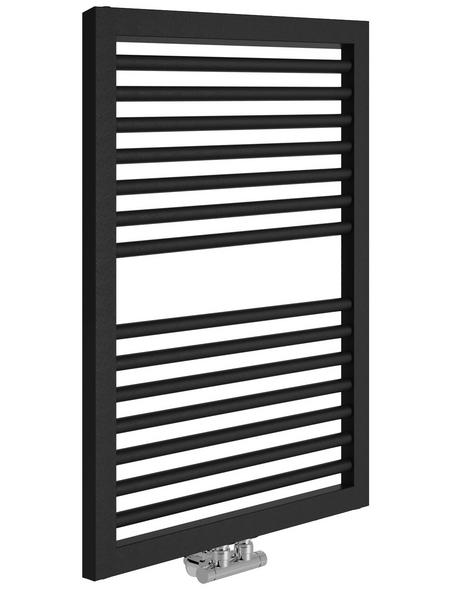 SANOTECHNIK Badheizkörper »Rimini«, B x T x H: 60 x 3 x 82,3 cm, 480 W, anthrazit