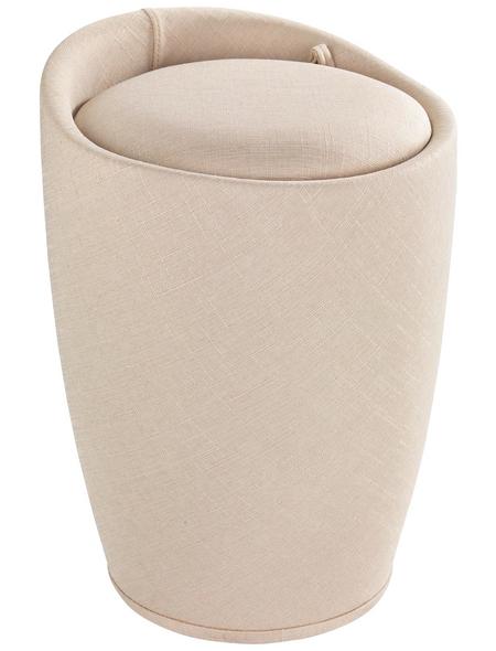 WENKO Badhocker »Candy«, Höhe: 50,5 cm, beige