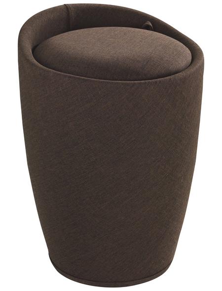WENKO Badhocker »Candy«, Höhe: 50,5 cm, braun