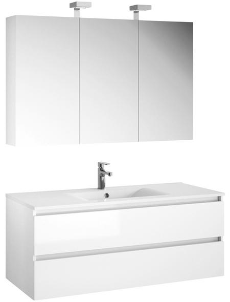 ALLIBERT Badmöbel-Set »Alma«, Breite: 120  cm, weiß, 3-teilig