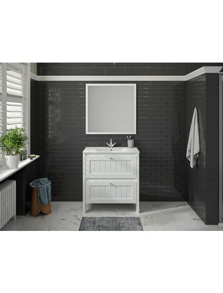 ALLIBERT Badmöbel-Set »America«, B x T x H: 80 x 45,5 x 86 cm, weiß, 80-teilig